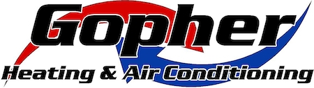 Gopher Heating and Air Conditioning Logo